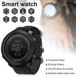 vogueyouth Men's New Altimeter Barometer Compass Waterproof 50m Activity Tracker Watch Smart Fitness Activity Tracker… 20