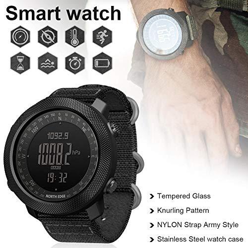 vogueyouth Men's New Altimeter Barometer Compass Waterproof 50m Activity Tracker Watch Smart Fitness Activity Tracker… 3