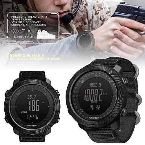 vogueyouth Men's New Altimeter Barometer Compass Waterproof 50m Activity Tracker Watch Smart Fitness Activity Tracker… 4
