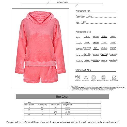2pcs Women Cat Pajamas Cute Girls Sleepwear Soft Bathrobe Shorts Winter Lounge Sleepwear Sets 3