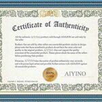 AIYINO Mens Casual V-Neck Long Sleeve T-Shirts/Long Sleeve Polo Shirts 8