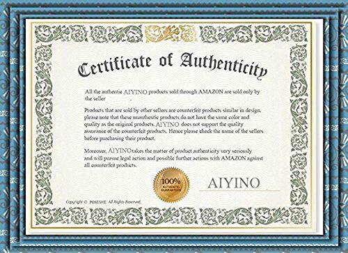 AIYINO Mens Casual V-Neck Long Sleeve T-Shirts/Long Sleeve Polo Shirts 3