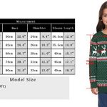 Abollria Women Jumpers Christmas Reindeer Long Sleeve Chunky Knitted Ribbed Sweater Jumpers Knitwear Top 23
