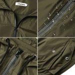 Abollria Raincoats Women Waterproof with Hood Lightweight Active Outdoor Windbreaker Rain Jacket 19