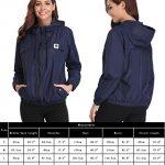 Abollria Raincoats Women Waterproof with Hood Lightweight Active Outdoor Windbreaker Rain Jacket 20