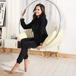 Abollria Womens Pyjama Set Loungewear Long Sleeve Fleece Velvet Winter Tracksuits Jogging Sportwear 20