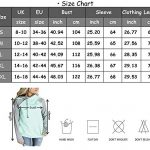 Aitos Womens Hoodies Long Sleeve Jumper Colorblock High Neck Sweatshirt Pullover Sweater Coat Pocket 21