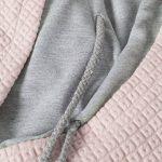 Aitos Womens Hoodies Long Sleeve Jumper Colorblock High Neck Sweatshirt Pullover Sweater Coat Pocket 26