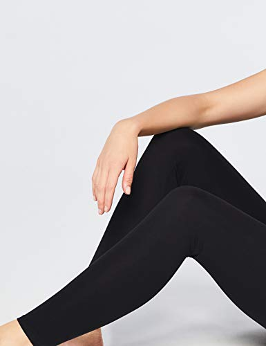 Amazon Brand - Iris & Lilly Women's Soft Touch Leggings, Pack of 2 4