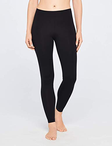 Amazon Brand - Iris & Lilly Women's Soft Touch Leggings, Pack of 2 1