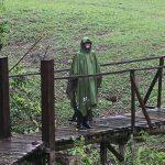 Anyoo Waterproof Rain Poncho Lightweight Reusable Hiking Rain Coat Jacket with Hood for Outdoor Activities 23