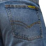 BNWT Men's Wide Leg Bootcut Flared Blue Heavy Denim Jeans 20