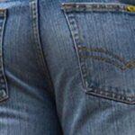 BNWT Men's Wide Leg Bootcut Flared Blue Heavy Denim Jeans 21