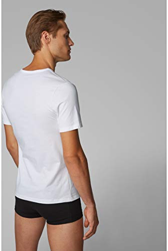 BOSS Mens T-Shirt RN 3P CO Three-Pack of Underwear T-Shirts in Cotton 5