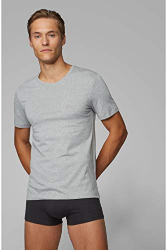 BOSS Mens T-Shirt RN 3P CO Three-Pack of Underwear T-Shirts in Cotton 6