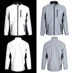 BTR High Visibility Be Totally Reflective Silver Jacket - Reflective and High Vis 21