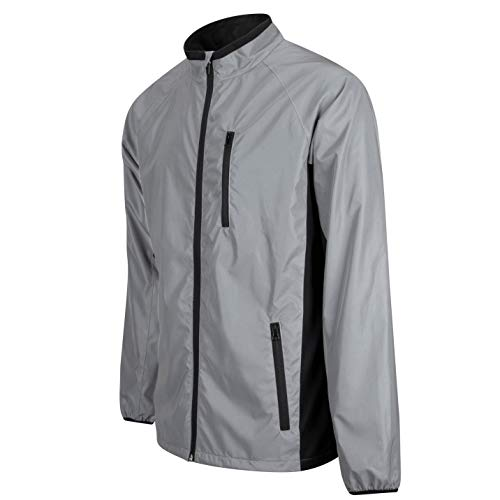 BTR High Visibility Be Totally Reflective Silver Jacket - Reflective and High Vis 5