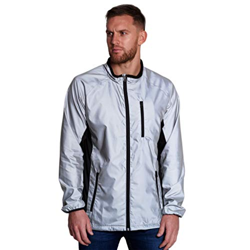 BTR High Visibility Be Totally Reflective Silver Jacket - Reflective and High Vis 6