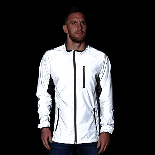 BTR High Visibility Be Totally Reflective Silver Jacket - Reflective and High Vis 7