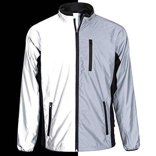 BTR High Visibility Be Totally Reflective Silver Jacket - Reflective and High Vis 8