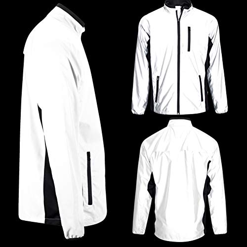 BTR High Visibility Be Totally Reflective Silver Jacket - Reflective and High Vis 9