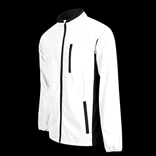 BTR High Visibility Be Totally Reflective Silver Jacket - Reflective and High Vis 10
