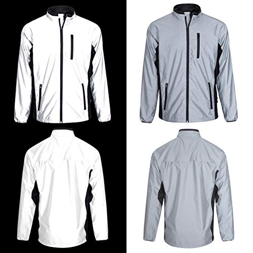 BTR High Visibility Be Totally Reflective Silver Jacket - Reflective and High Vis 1