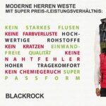 Blackrock Men's Outdoor-Vest - Slim Fit - Sleeveless Gilet - Warm & Comfortable Vest 22