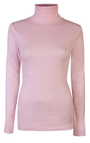 Brody & Co. Womens Roll Necks Ladies Polo Neck Tops Exclusively Plain Winter Ski Quality Stretch Jersey Cotton 1
