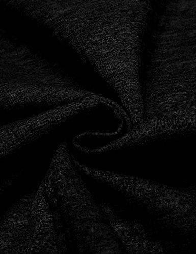 COOFANDY Men's Sweatshirt Hipster Gym Long Sleeve Drawstring Hooded Plaid Jacquard Pullover Hoodies 8