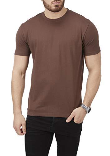Charles Wilson 5 Pack Plain Crew Neck T-Shirt 3