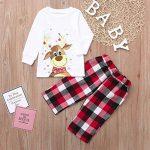 Christmas Pjs Family Matching Sleepwear Knit Holiday Mix Match Pajamas PJs Collection Tops and Long Pants Sleepwear… 15