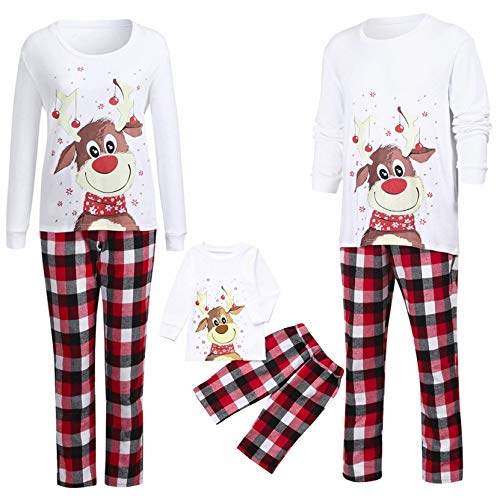 Christmas Pjs Family Matching Sleepwear Knit Holiday Mix Match Pajamas PJs Collection Tops and Long Pants Sleepwear… 5