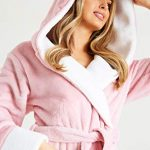 CityComfort Dressing Gown Women | Ladies Hooded Fleece Fluffy Dressing Gowns | Super Soft Ladies Bathrobe | Gifts for… 21