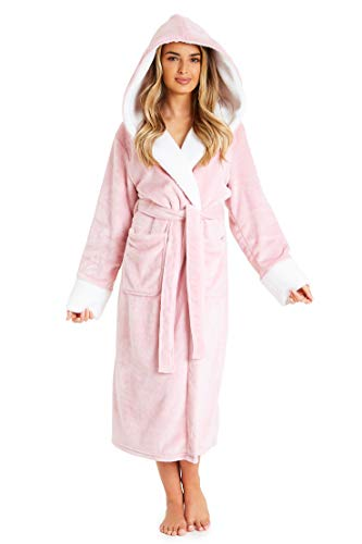 CityComfort Dressing Gown Women | Ladies Hooded Fleece Fluffy Dressing Gowns | Super Soft Ladies Bathrobe | Gifts for… 1