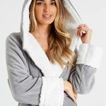 CityComfort Dressing Gown Women with Hood - Luxurious Fluffy Ladies Dressing Gown in Super Soft Fleece for Women, Gifts… 19