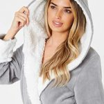 CityComfort Dressing Gown Women with Hood - Luxurious Fluffy Ladies Dressing Gown in Super Soft Fleece for Women, Gifts… 21