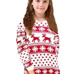 Crazy Girls Red Olives® Womens Baby Reindeer Christmas Jumper Kids Unisex Bambi Deer Xmas Knitted Top 7/8 Years-M/L 7