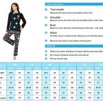 DiaryLook Ladies Pyjama Sets, 2-Piece Women Pjs Set Long Sleeve Sleepwear with Cute Print UK Size 8-28, XS-XXL 20