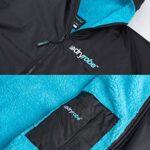Dryrobe Advance LONG SLEEVE Change Robe - Stay Warm and Dry - Windproof Waterproof Oversized Poncho Coat - Swimming… 17