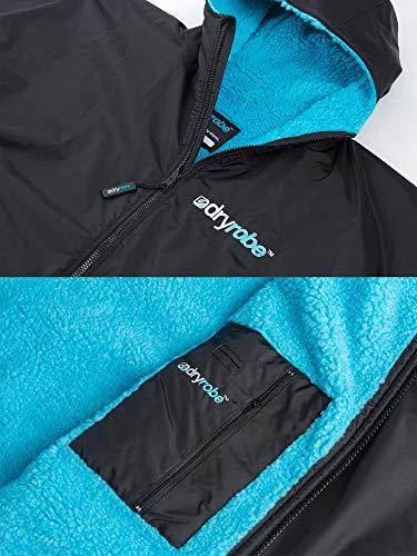 Dryrobe Advance LONG SLEEVE Change Robe - Stay Warm and Dry - Windproof Waterproof Oversized Poncho Coat - Swimming… 4