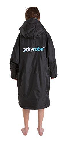 Dryrobe Advance LONG SLEEVE Change Robe - Stay Warm and Dry - Windproof Waterproof Oversized Poncho Coat - Swimming… 5