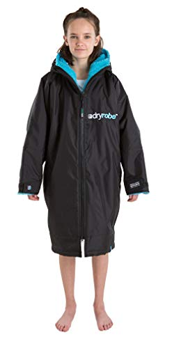 Dryrobe Advance LONG SLEEVE Change Robe - Stay Warm and Dry - Windproof Waterproof Oversized Poncho Coat - Swimming… 1