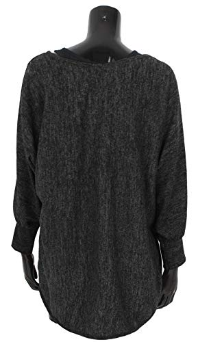 Emma & Giovanni - Oversized Jumper - Long Sleeve - (2 Pieces) Made in Italy - Women 3