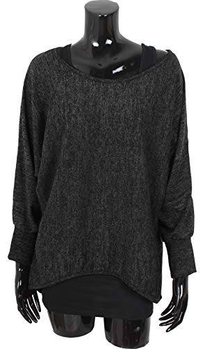 Emma & Giovanni - Oversized Jumper - Long Sleeve - (2 Pieces) Made in Italy - Women 5