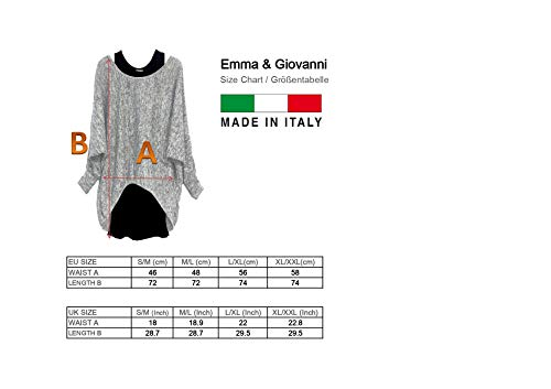 Emma & Giovanni - Oversized Jumper - Long Sleeve - (2 Pieces) Made in Italy - Women 7