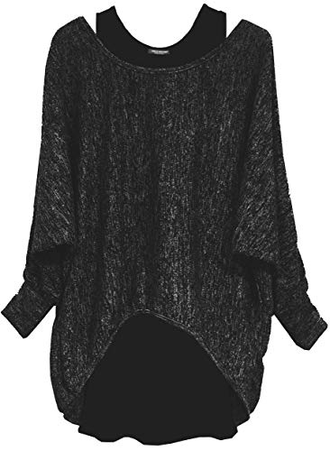 Emma & Giovanni - Oversized Jumper - Long Sleeve - (2 Pieces) Made in Italy - Women 1