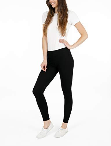 FM London Women's Casual Leggings (3-Pack) 4