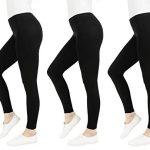 FM London Women's Casual Leggings (3-Pack) 9