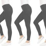 FM London Women's Casual Leggings (3-Pack) 12